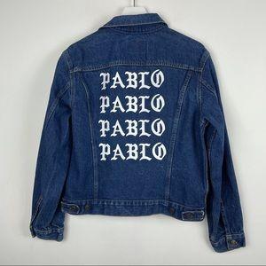 Vintage Levi's x Kanye West Pablo Jean Jacket
